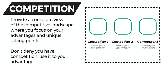 Competition Pitch Deck Checklist