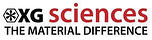 XG Sciences the material difference logo black letters