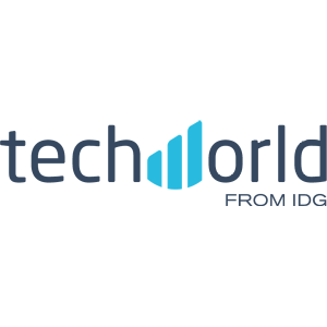 techwold logo from IDG with navy blue letters on a transparent background