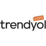 trendyol logo black text with orange tag