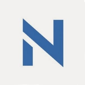 NCrypted technologies logo blue N letter on a white background