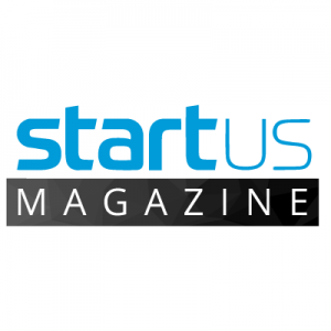 start us magazine loto text with white and blue on a white and black background