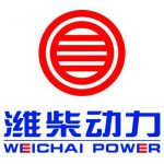 weichai power logo red circles and lines with blue text