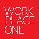 Work Place One red white logo