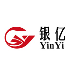 Yinyi Group logo red shape with black text