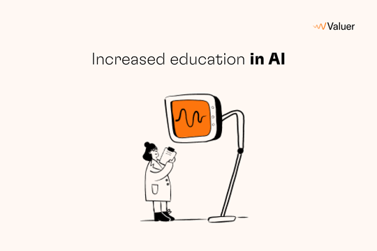 Increased education in AI