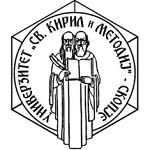 Ss Cyril and Methodius University Skopje logo