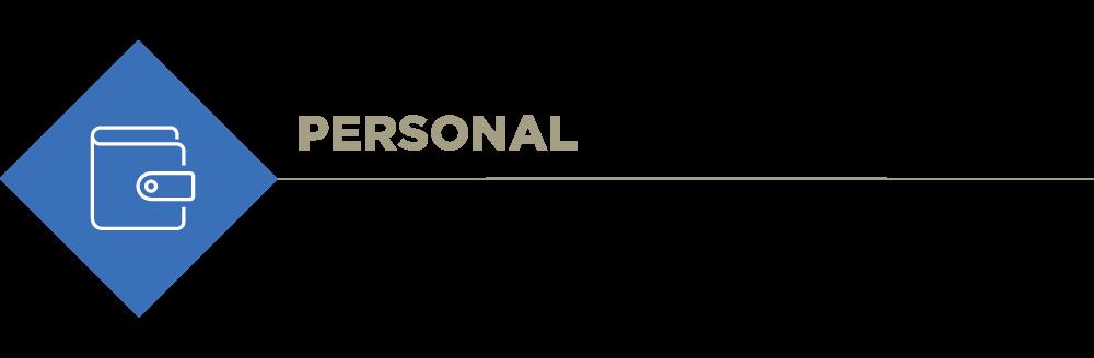 Personal investor description banner