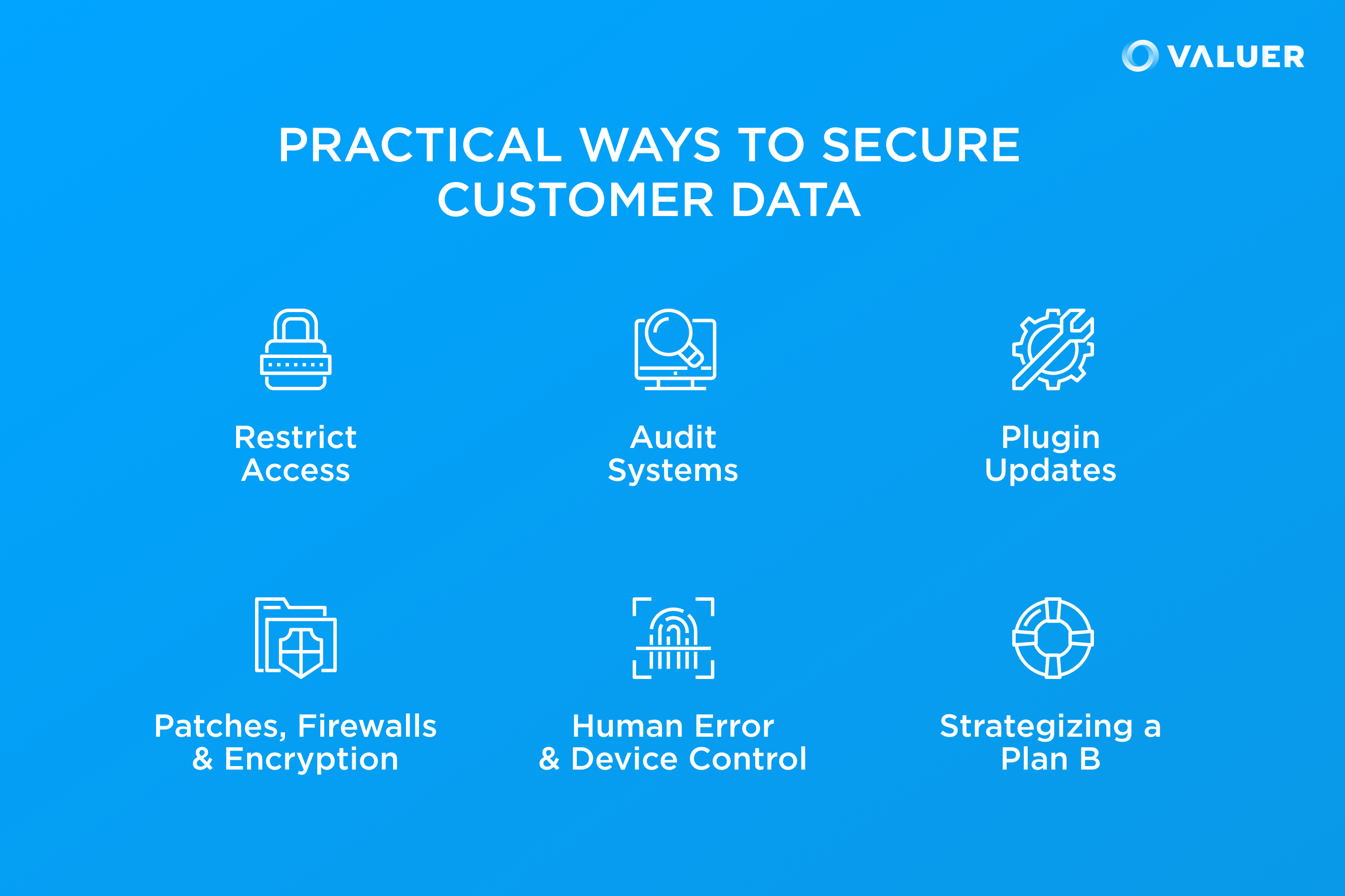 Practical Ways to Secure Customer Data