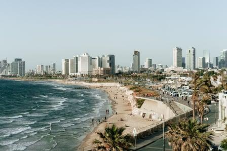 tel aviv coast line