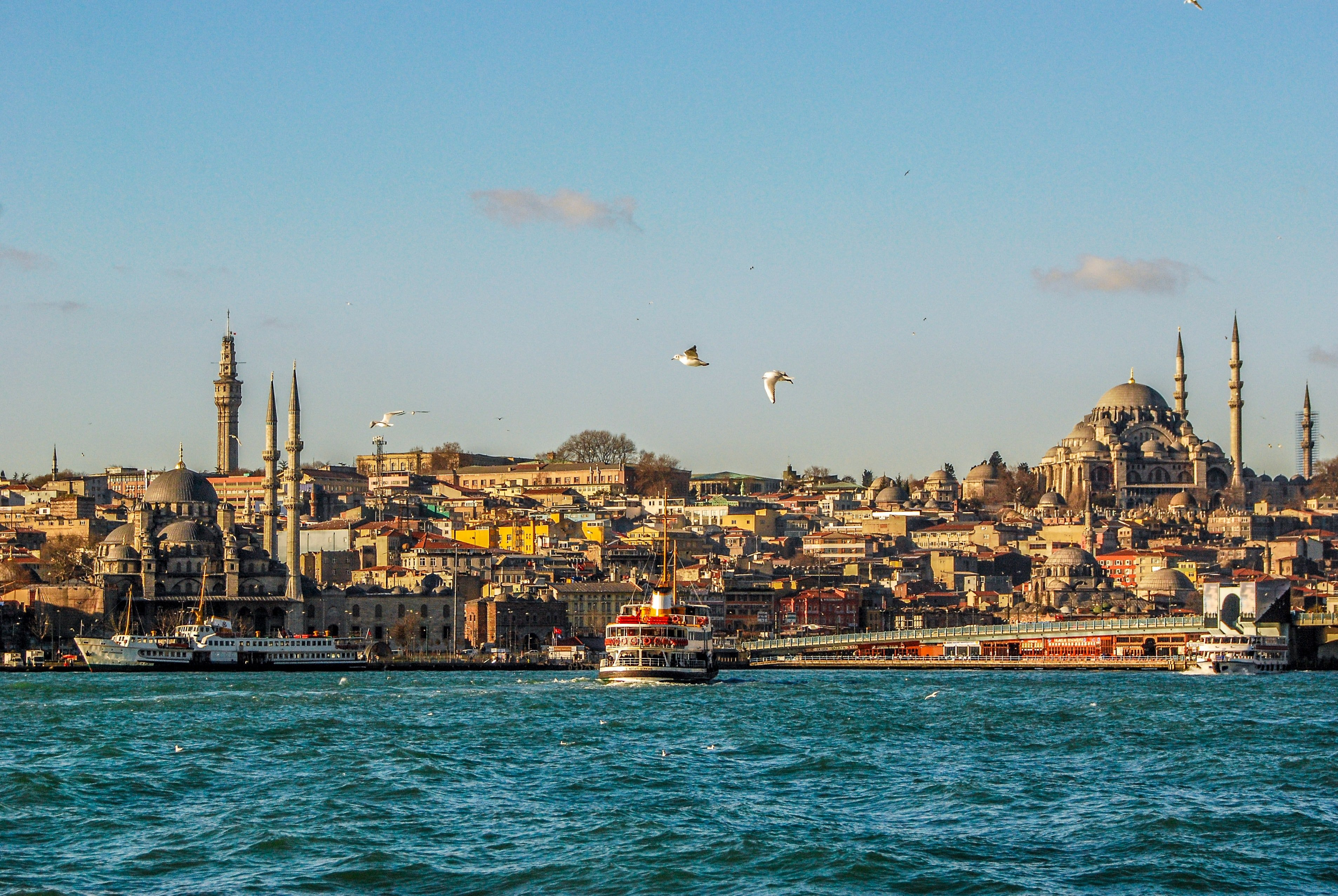 istanbul from the water