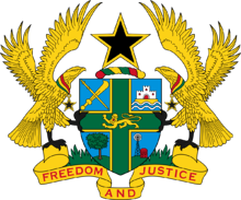 Ghanian government logo