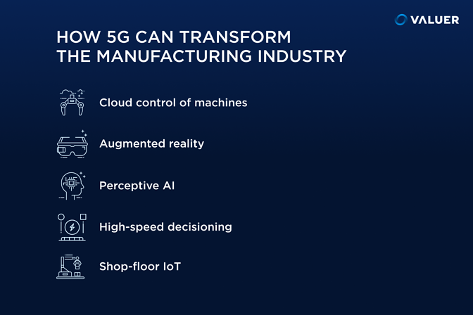 How 5g can transform the manufacturing industry