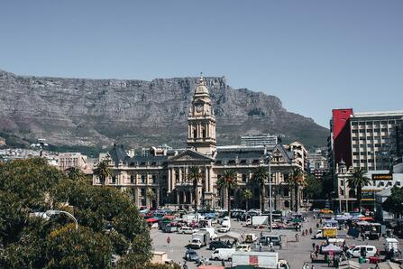 downtown cape town, south africa