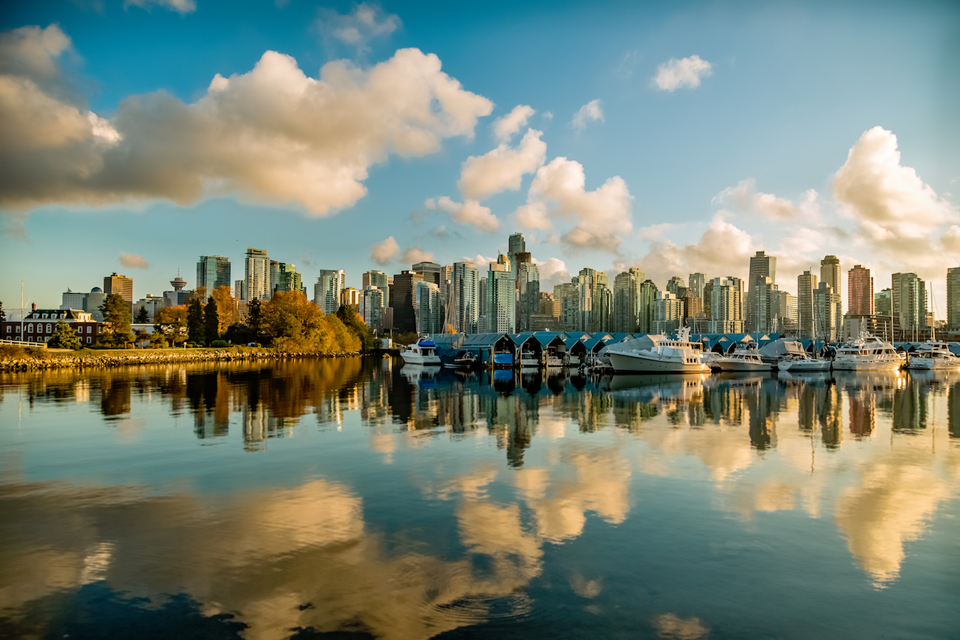 vancouver from the water