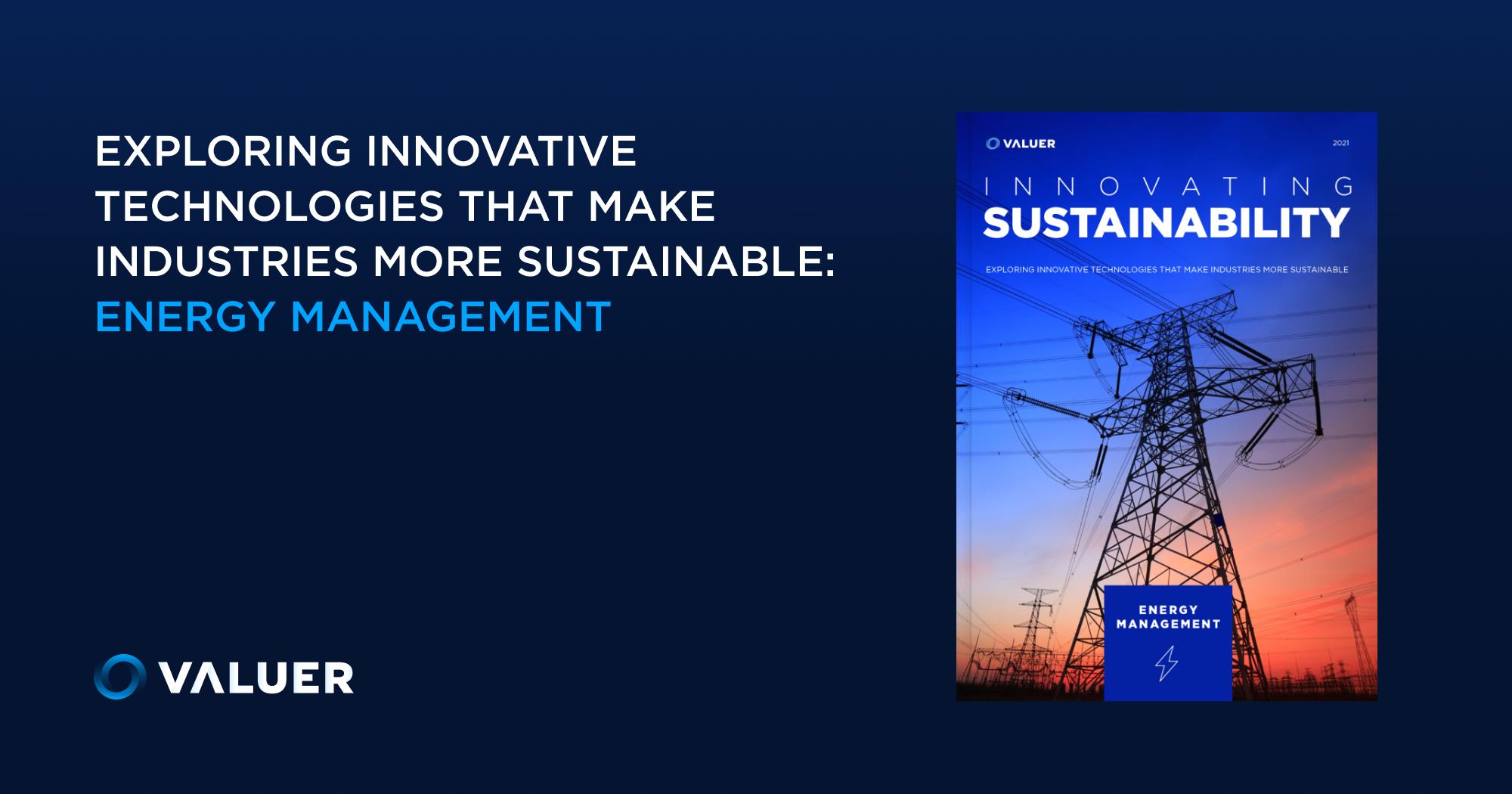 Innovating Sustainability: Energy Management