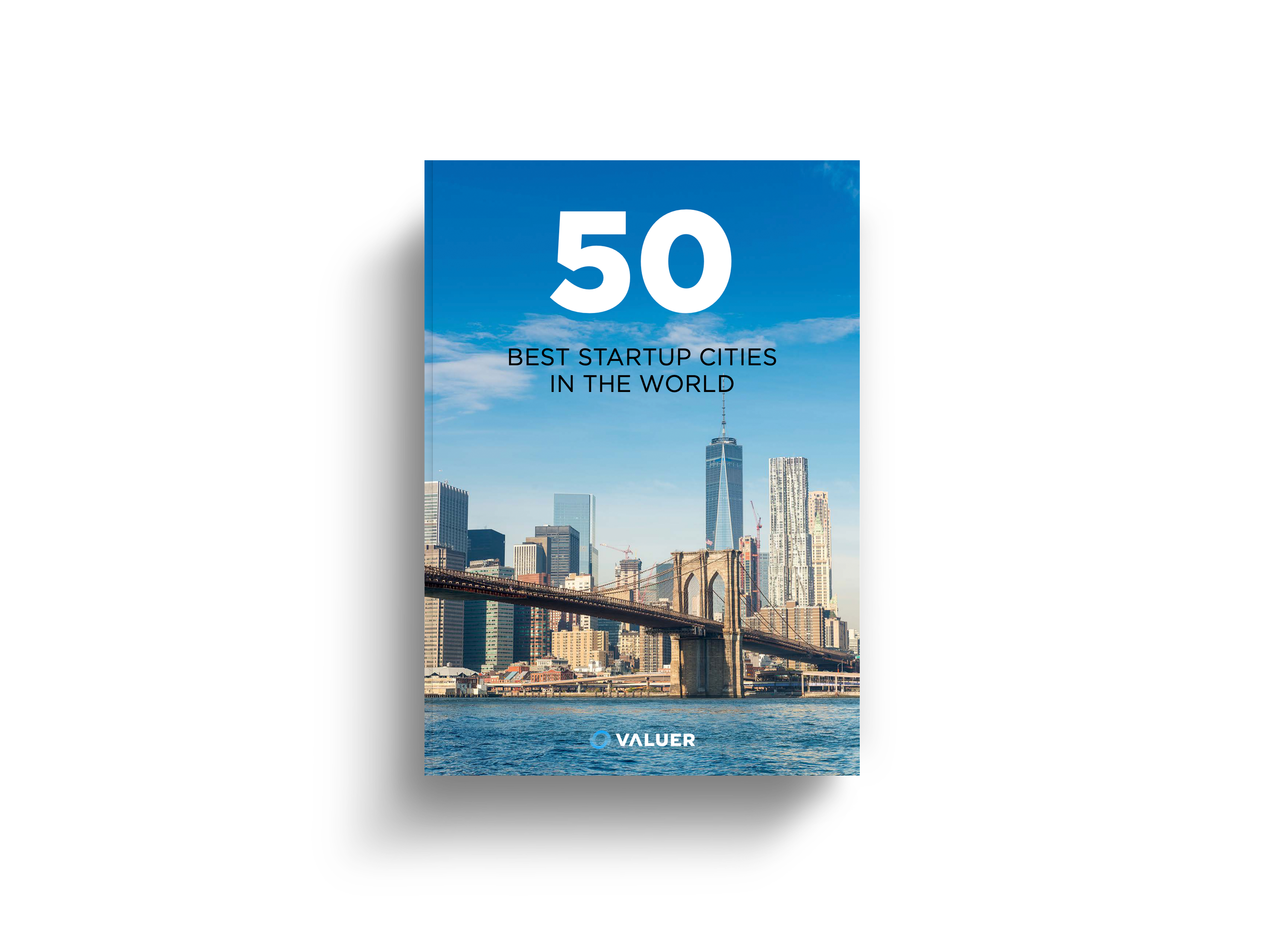 Front Cover of 50 best startup cities in the world