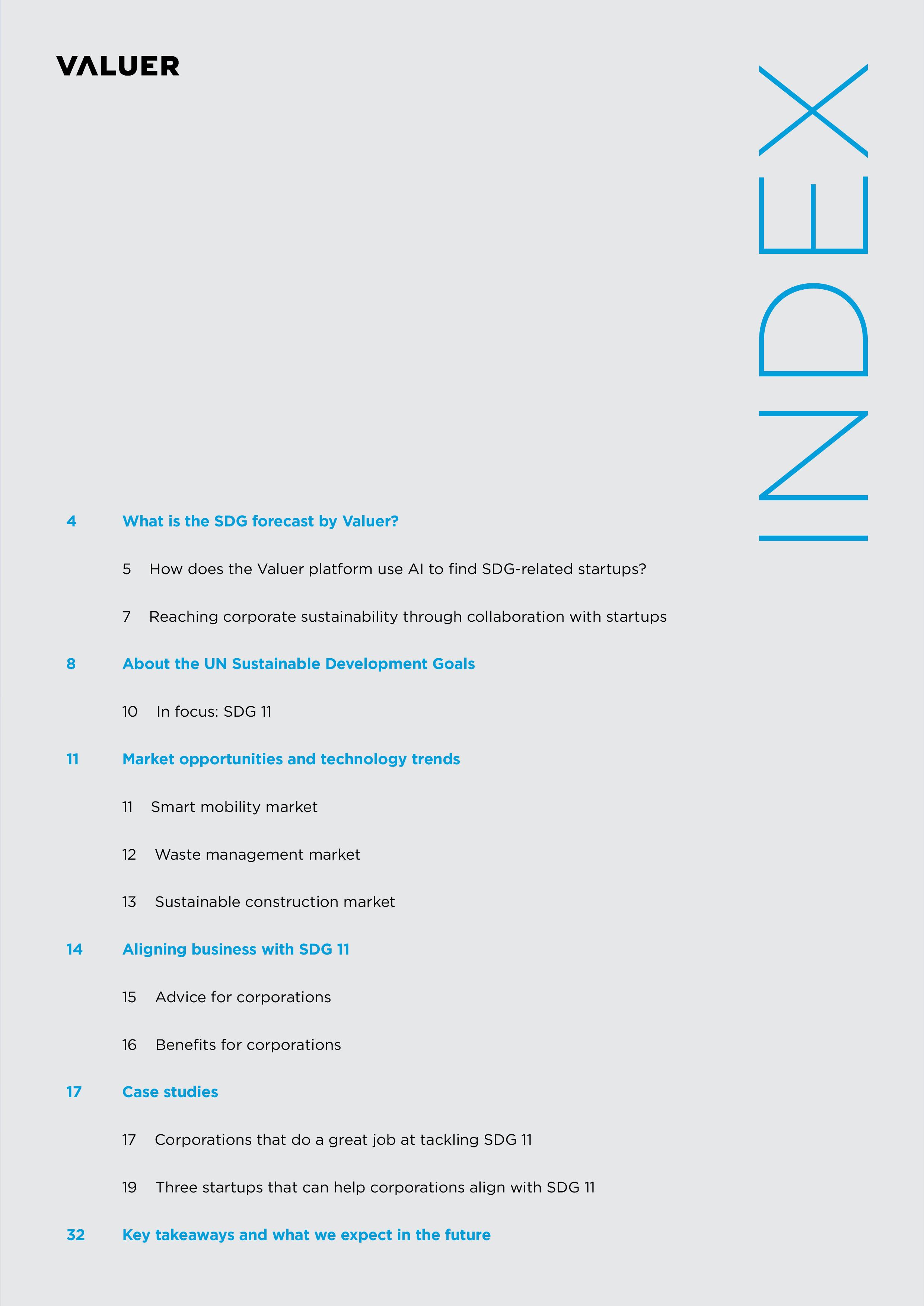 SDG 11 Index