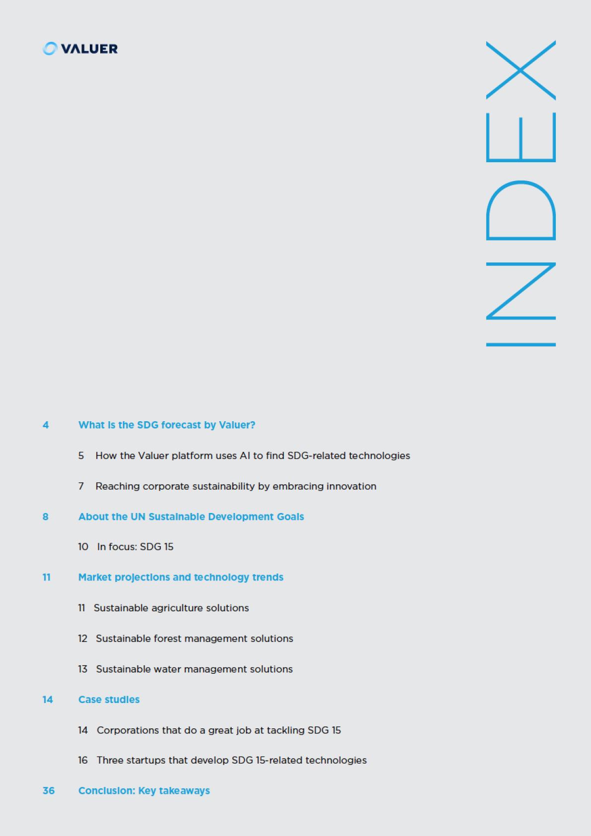 SDG 15 Index
