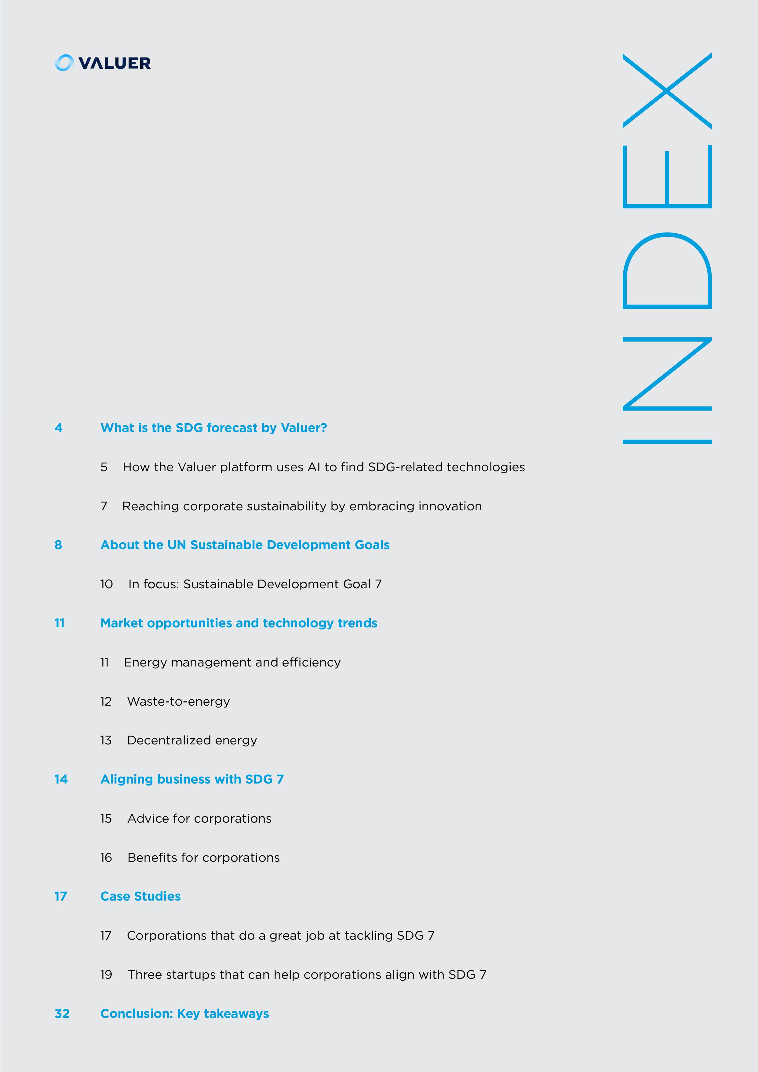 SDG 7 Index