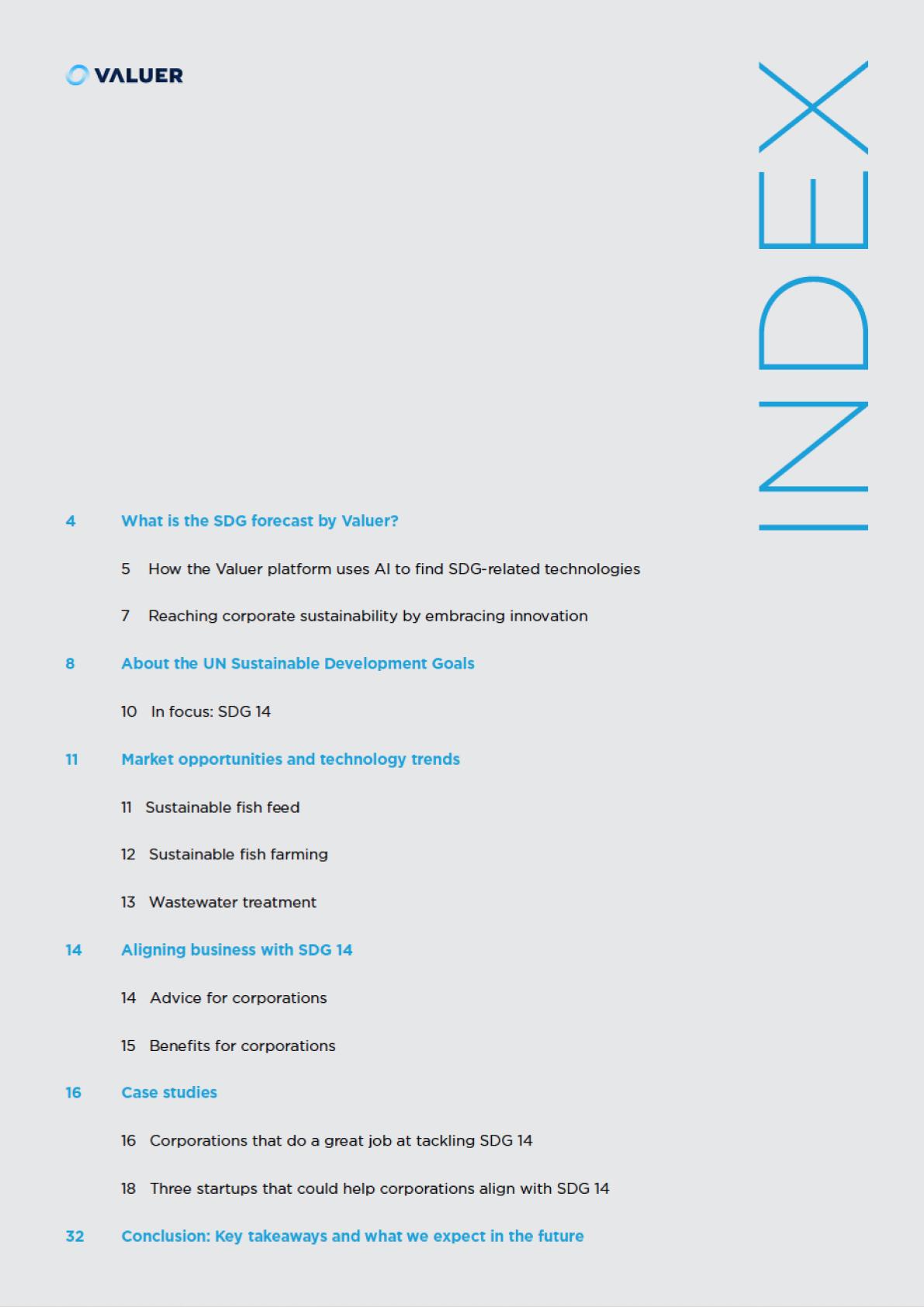 SDG 14 Index